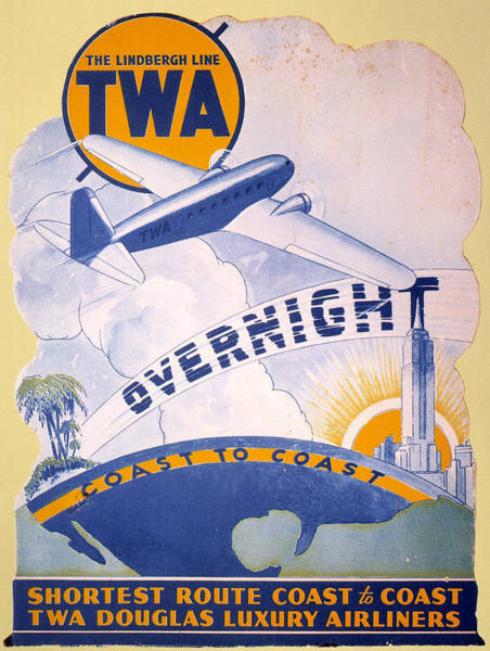 Photograph - Trans-world Airlines 1934 by Granger
