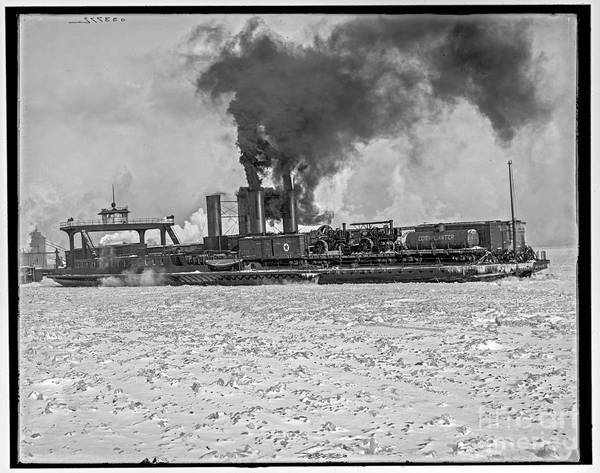 Photograph - Transfer Steamer by Russell Brown