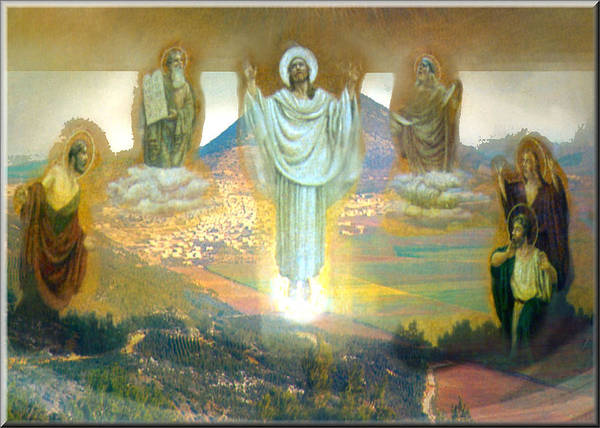 Digital Art - Transfiguration 2009 by Glenn Bautista