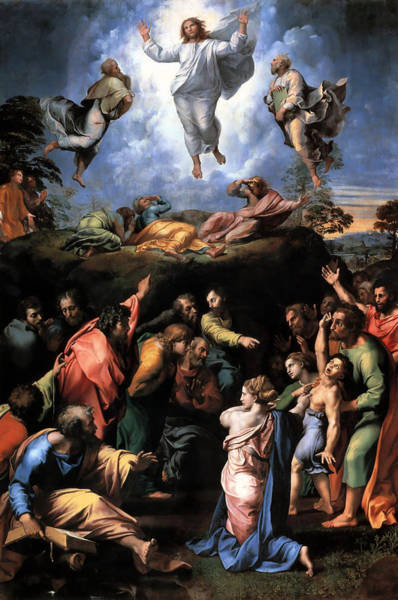Digital Art - Transfiguration Reproduction Art Work by Raphael