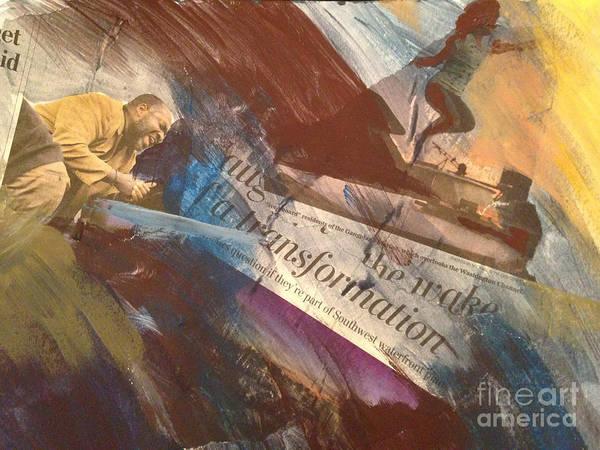 Wall Art - Painting - Transformation by Ellen Moore Osborne