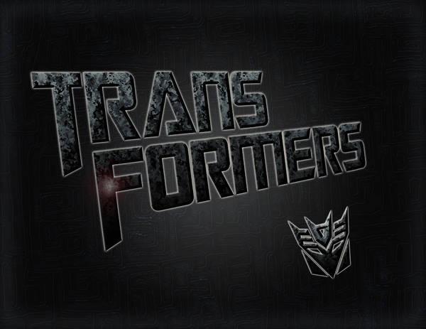 Transformer Painting - Transformers Typography Design by Georgeta Blanaru