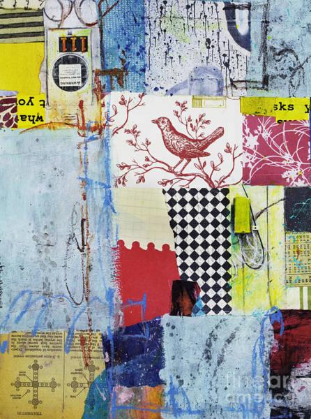 Mixed Media - Transistor Harmony by Elena Nosyreva