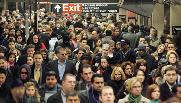 Transit Strike Looms For New York City Commuters Art Print by Mario Tama