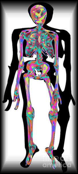 Depressed Digital Art - Trapped by Chris Butler