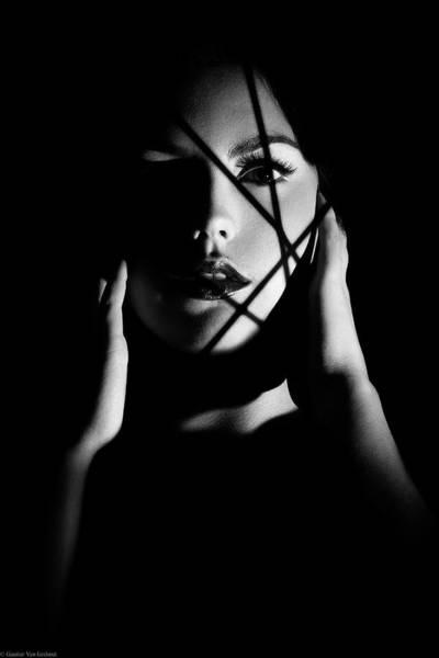 Dark Shadows Photograph - Trapped by Gautier Van Lieshout
