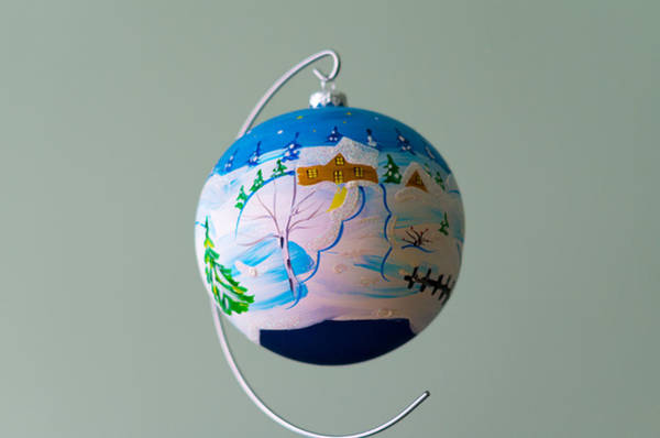 Photograph - Trapped In Bauble by Tgchan