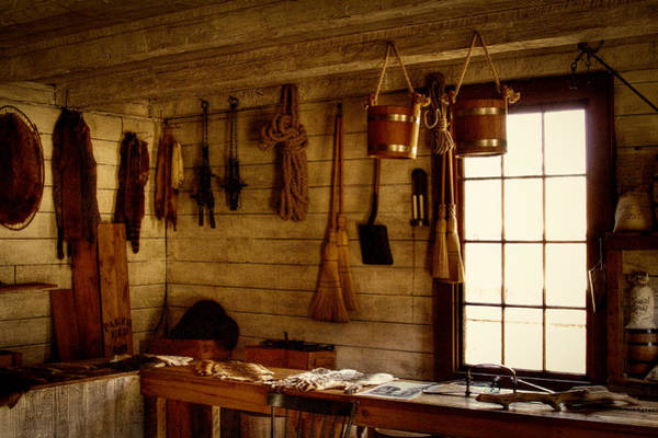Photograph - Trapper Supplies At The General Store by David Patterson