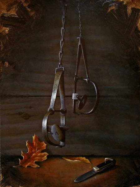 Wall Art - Painting - Traps by Timothy Jones