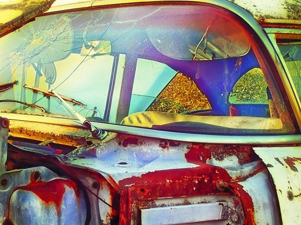 Clunker Wall Art - Photograph - Trashed Treasure by Christi Kraft