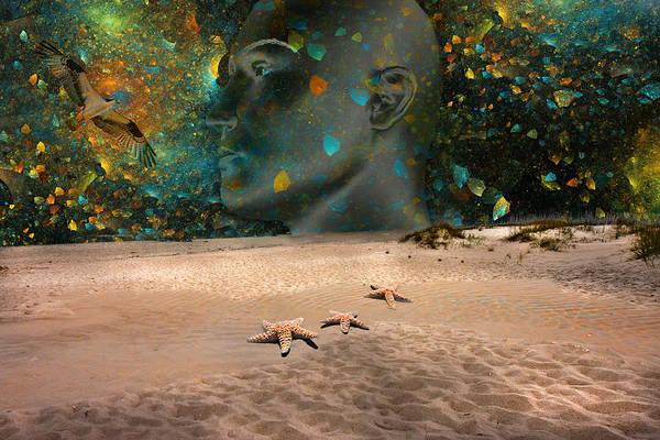 Reflective Digital Art - Travel by Betsy Knapp