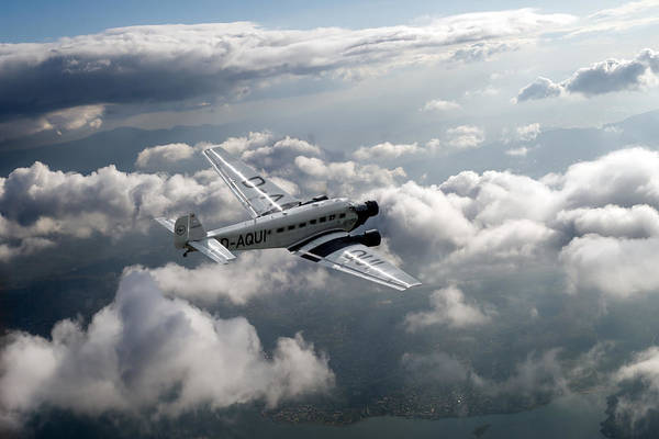 Ju-52 Wall Art - Photograph - Travel In An Age Of Elegance by Gary Eason