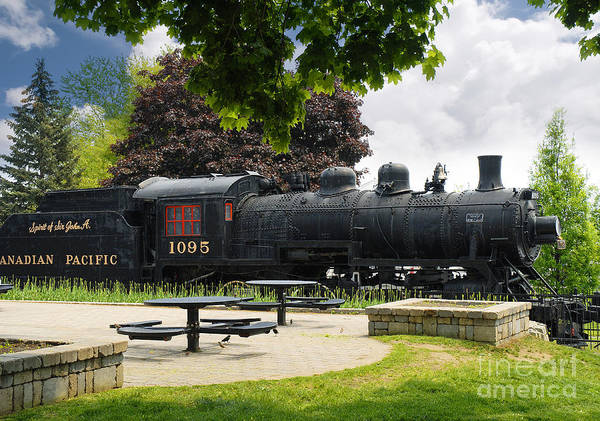 Photograph - Travel In Times Past On Canadian Pacific  by Brenda Kean
