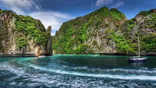 Travel Phi Phi Island Art Print