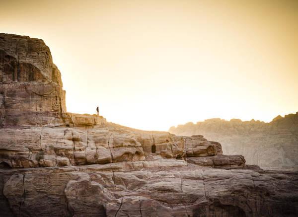 Desert Sunset Photograph - Traveler by Alexey Stiop