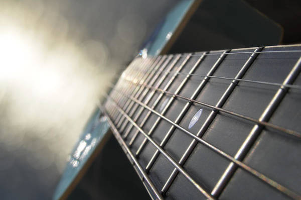 Guitar Neck Photograph - Traveler Of Time And Space by Laura Fasulo