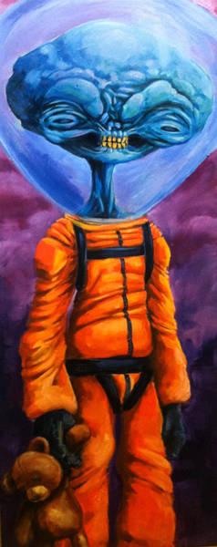 Deep Space Mixed Media - Traveler by Seth Fyffe