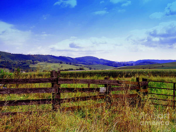 Photograph - Traveling Through The Allegheny Mountains by Gena Weiser