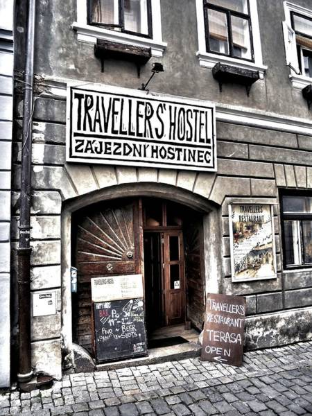 Photograph - Travellers Hostel - Cesky Krumlov by Juergen Weiss