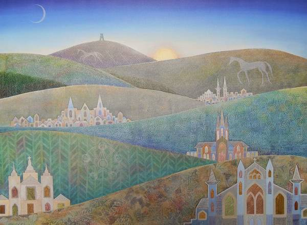 Wall Art - Painting - Travelling South Westward by Jennifer Baird