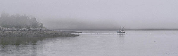 Wall Art - Photograph - Trawler In Fog by Marty Saccone