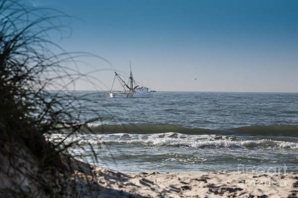 Photograph - Trawler by Ronald Lutz
