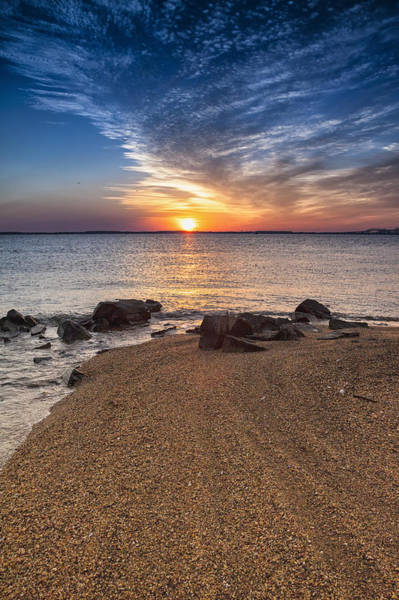 Sandy Point State Park Photograph - Treasure From The Vault by Edward Kreis