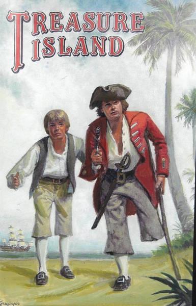 Painting - Treasure Island by Mel Greifinger