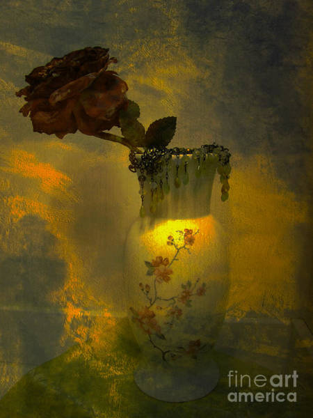 Flowers In A Vase Photograph - Treasures In A Vase by Beverly Guilliams