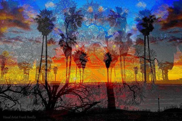 Digital Art - Tree City by Visual Artist Frank Bonilla