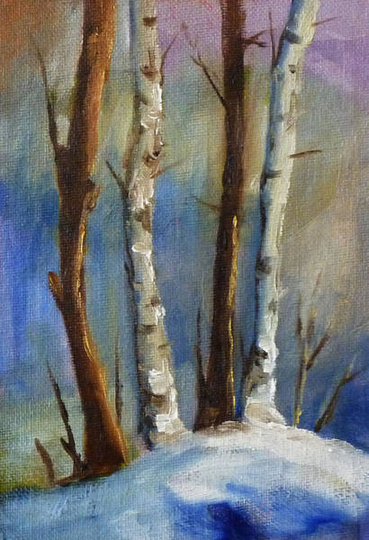 Wall Art - Painting - Tree Group by Nancy Merkle