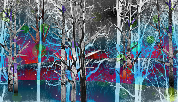 Digital Art - Tree Line by Ericamaxine Price