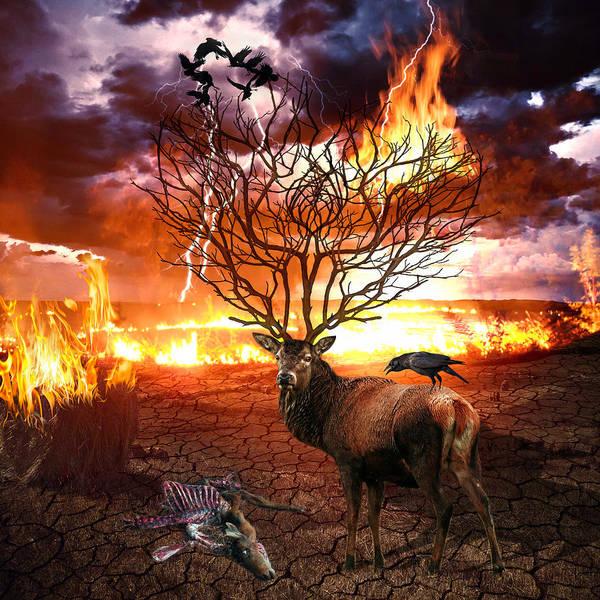 Symbolic Digital Art - Tree Of Death by Marian Voicu