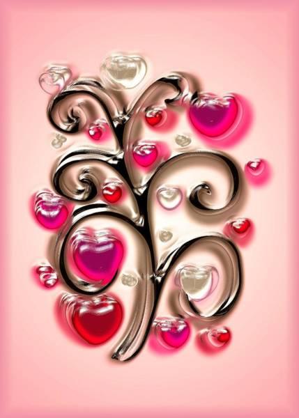 Digital Art - Tree Of Hearts by Anastasiya Malakhova