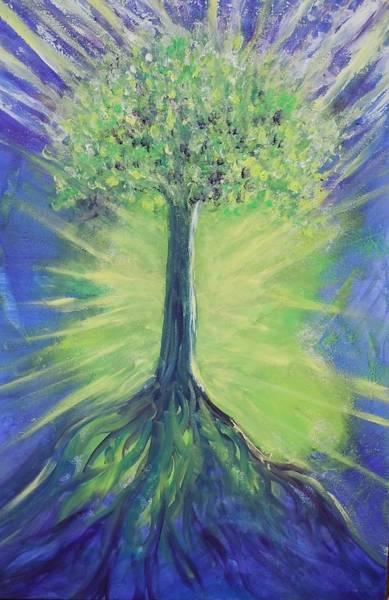 Painting - Tree Of Life by Deborah Brown Maher
