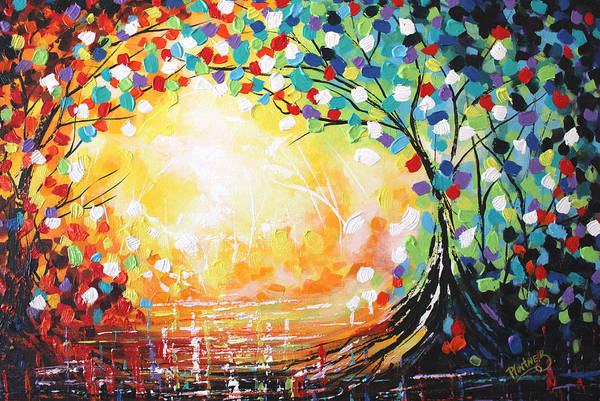Uplift Painting - Tree Of Life by Patricia Lintner