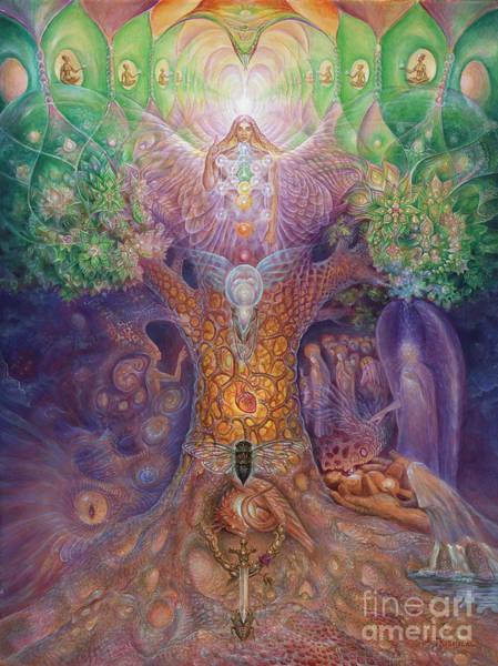 Compassion Painting - Tree Of Life by Tatiana Kiselyova