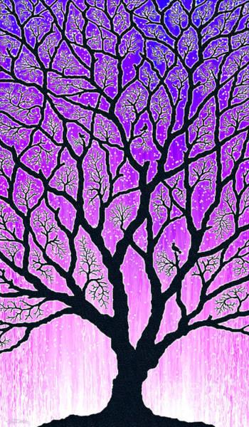 Wall Art - Digital Art - Tree Of Light by Cristophers Dream Artistry