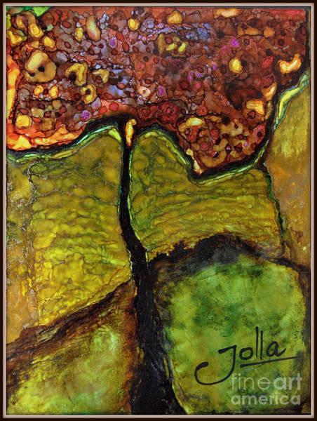 Painting - Tree Of Wisdom.. by Jolanta Anna Karolska