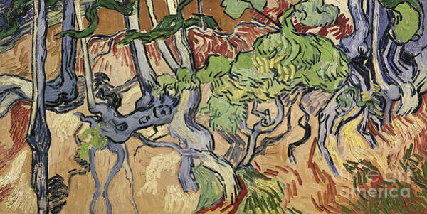 Gnarl Wall Art - Painting - Tree Roots by Vincent Van Gogh