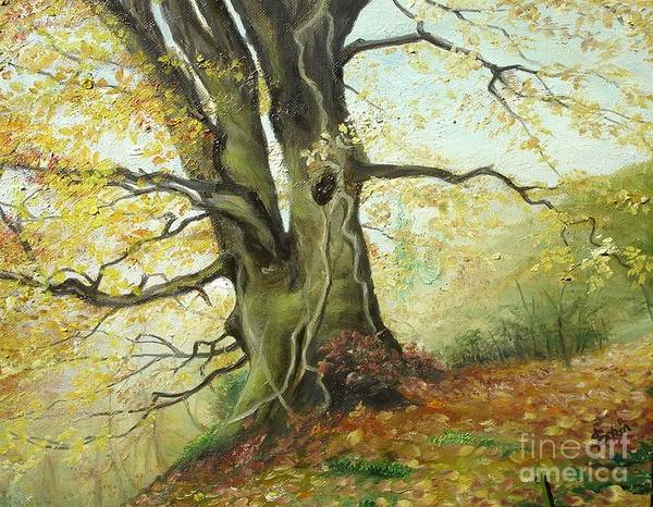 Painting - Tree by Sorin Apostolescu