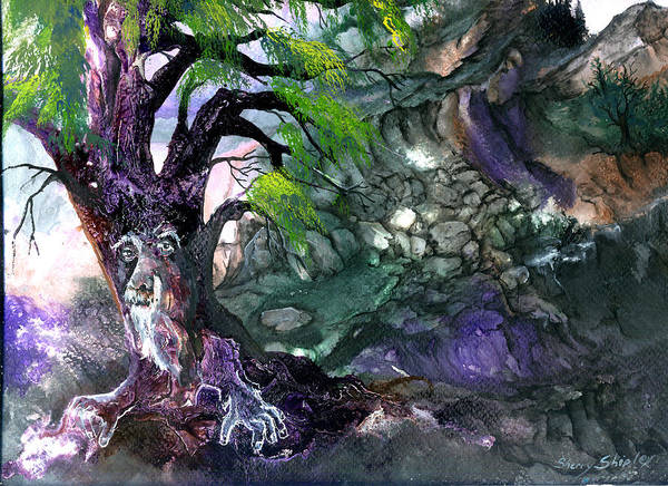 Painting - Tree Spirit by Sherry Shipley