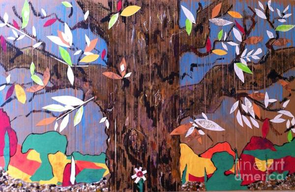 Cut-out Mixed Media - Tree Treat by Joseph and Luanne Wetzel