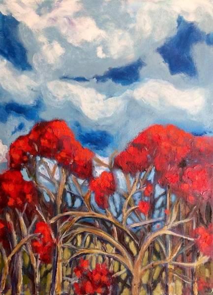 Painting - Treebutaries by Dilip Sheth