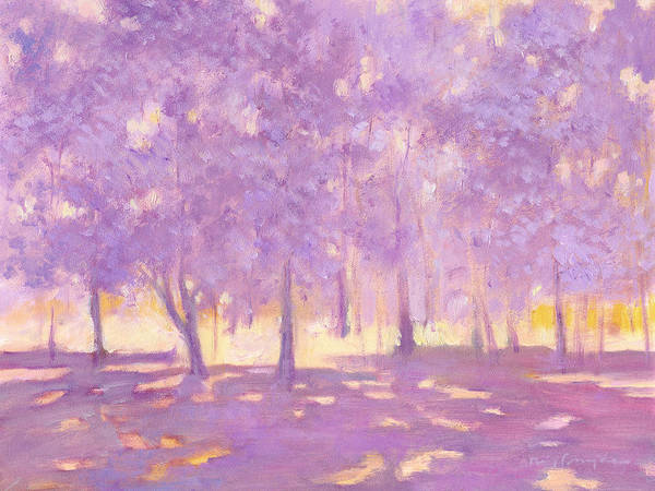 Painting - Trees6 by J Reifsnyder