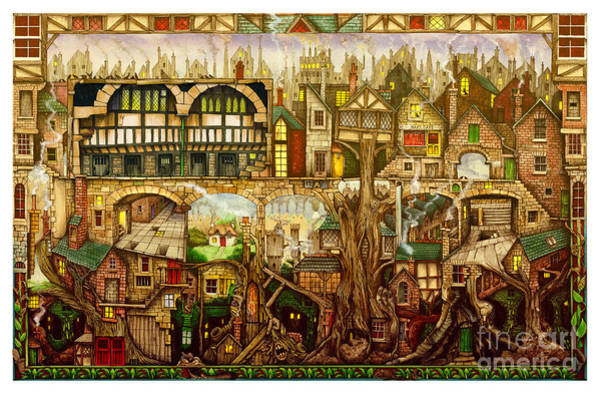 Treetown Art Print