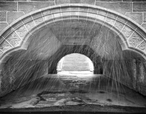 Photograph - Trefoil Bridge Central Park by Dave Beckerman