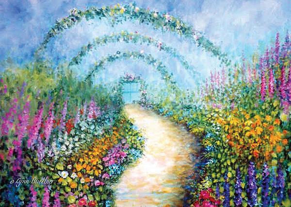 Painting - Trellis II by Lynn Buettner