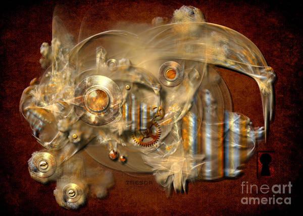 Digital Art - Tresor by Alexa Szlavics