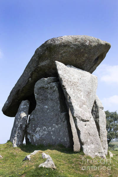 Photograph - Trethevy Quoit by Tony Mills